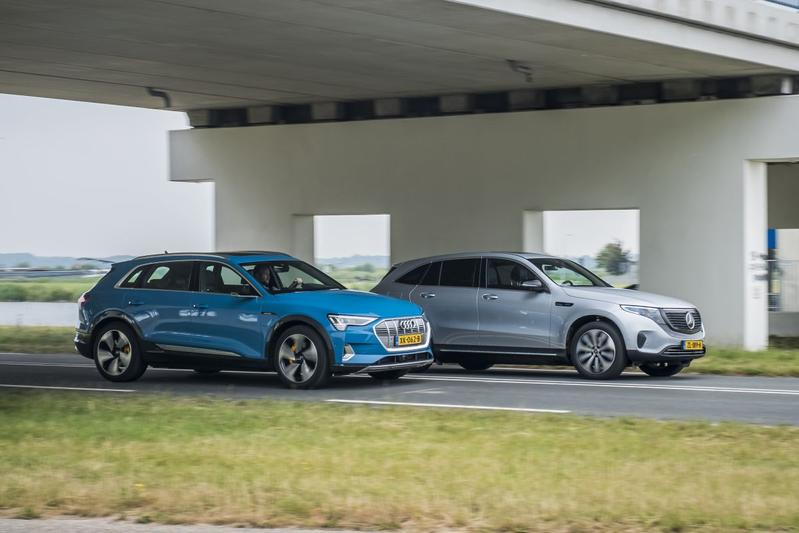 Audi E-Tron Mercedes EQC EV elektrisch