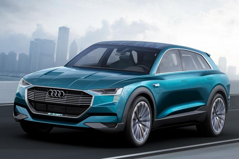Audi e-tron Quattro blikt vooruit op Q6