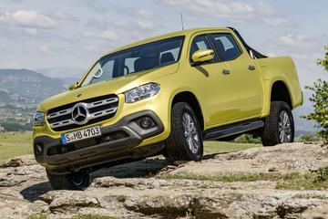 Mercedes-Benz sluit X-klasse met V8 niet uit