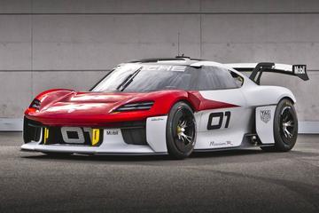 Porsche Mission R: elektrische racer van 718-formaat