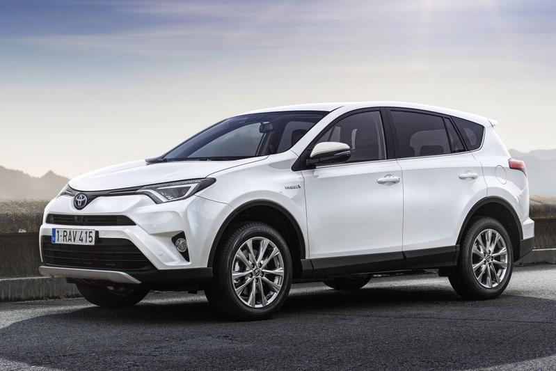 Toyota RAV4 2.5 Hybrid 4WD Executive (2016)