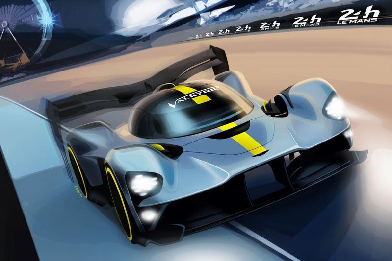 Aston Martin Valkyrie 24 uur van Le Mans