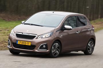Peugeot 108 krijgt motorische upgrade