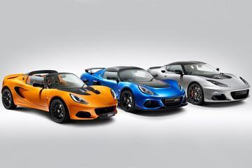 Fors lagere prijzen voor Lotus Elise, Exige en Evora