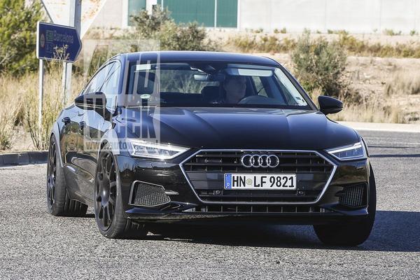 Gesnapt: Audi RS7