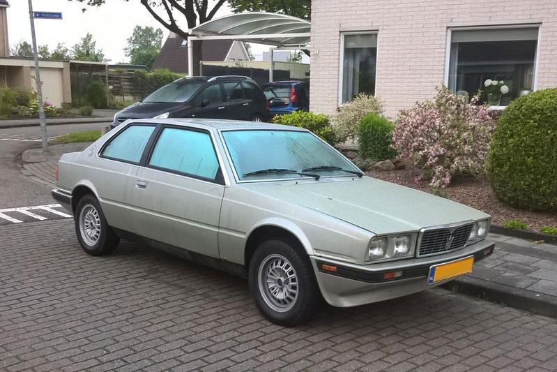 In het wild: Maserati Biturbo (1983) - AutoWeek.nl