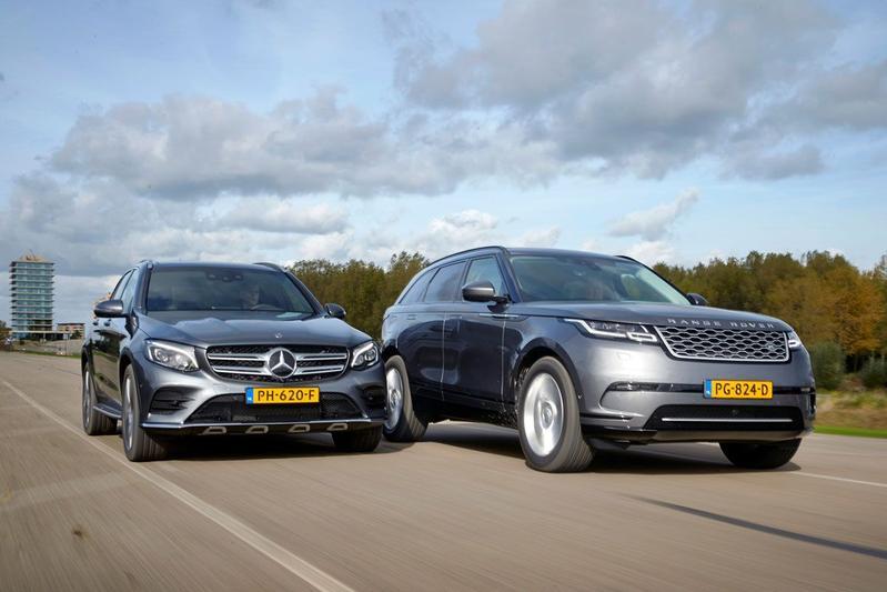 Range Rover Velar vs. Mercedes GLC - Dubbeltest