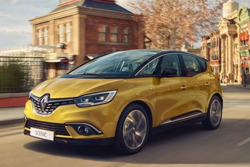 Minieme modeljaarupdate voor Renault Scénic