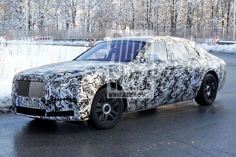 Spyshots Rolls-Royce Ghost