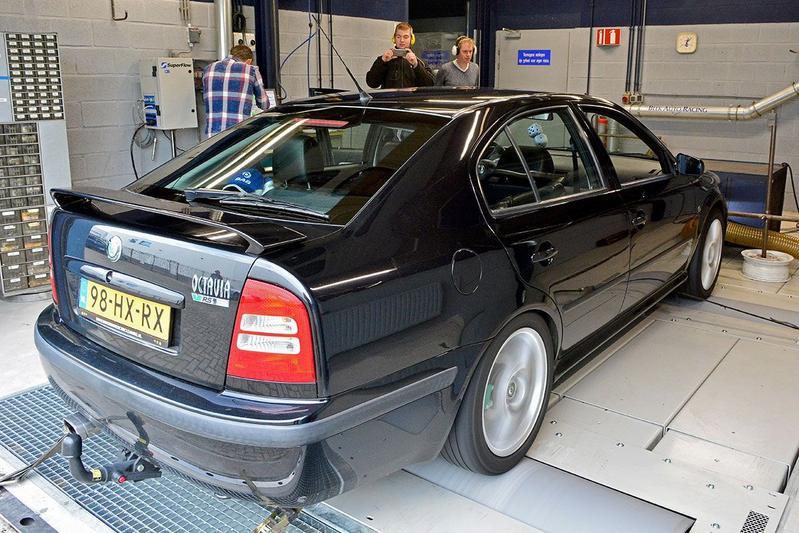 Skoda Octavia RS - Op de Rollenbank