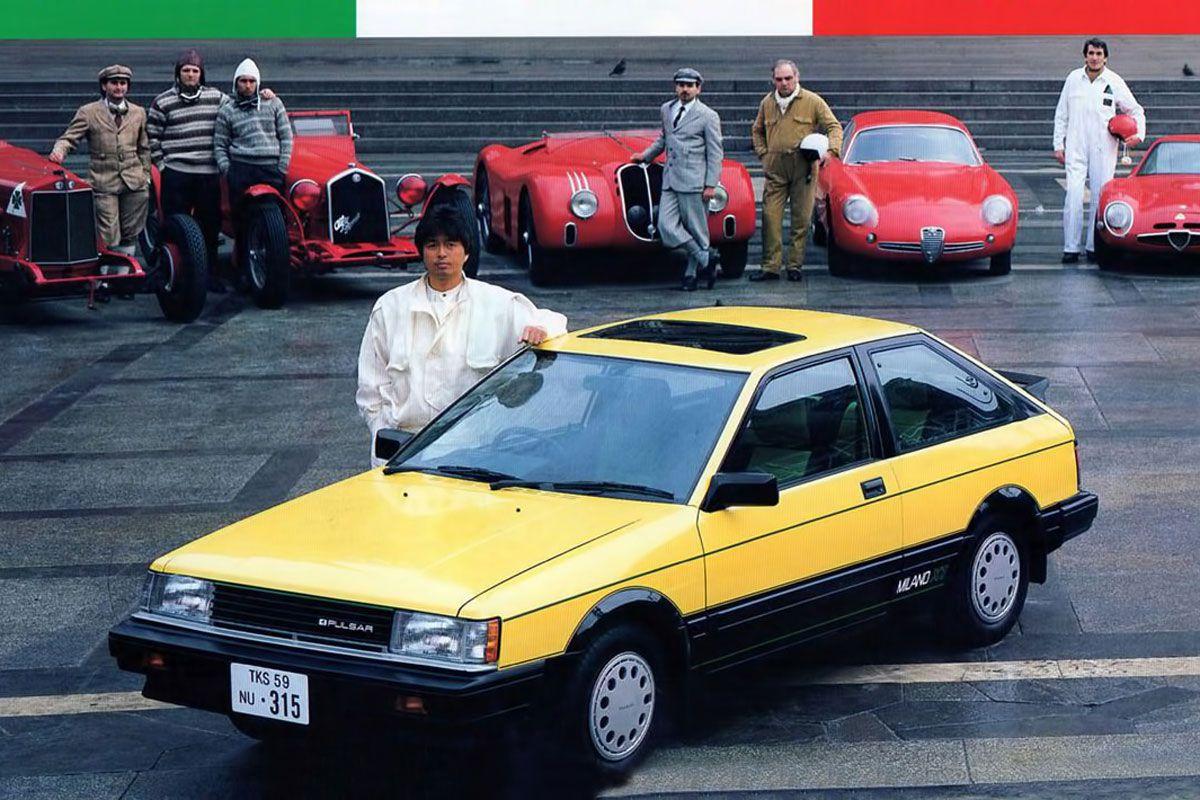 De Tweeling: Alfa Romeo Arna - Nissan Cherry/Pulsar - Holden