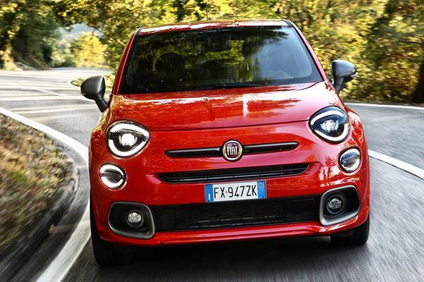 Fiat 500X nu als Sport