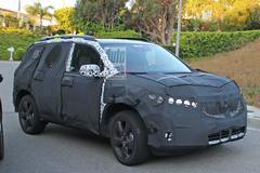 Nieuwe SUV van Honda gesnapt