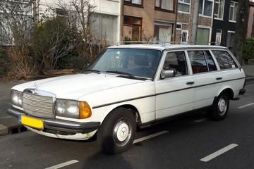 In het wild: Mercedes-Benz 240TD (1982)