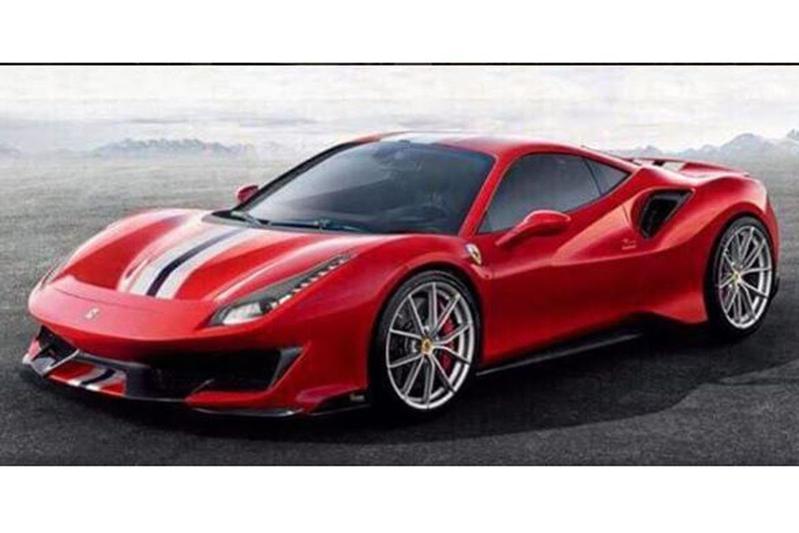 Gelekt: Ferrari 488 Pista