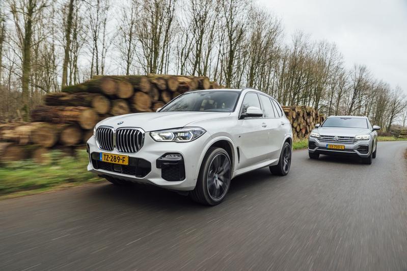 BMW X5 vs. Volkswagen Touareg - Dubbeltest