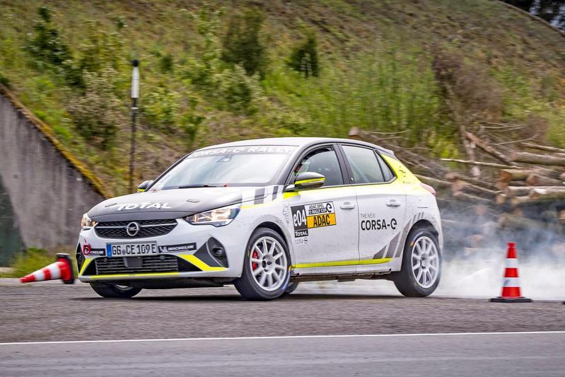 Opel Corsa-e Rally, rally rijden op stroom