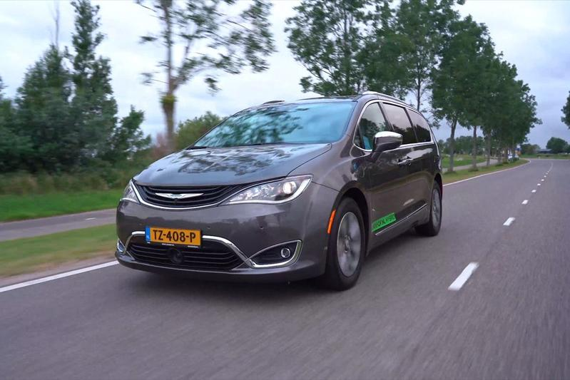 Chrysler Pacifica - Rij-impressie