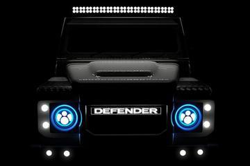Land Rover-tuner geeft Defender Tesla-kracht