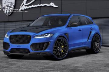 Lumma Design pompt Jaguar F-Pace op