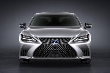 Facelift voor Lexus LS