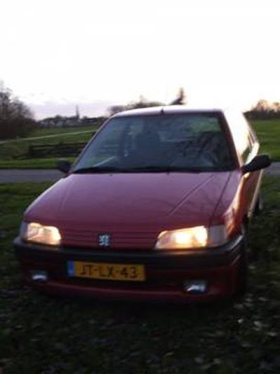 Peugeot 106 XS 1.6i (1995)
