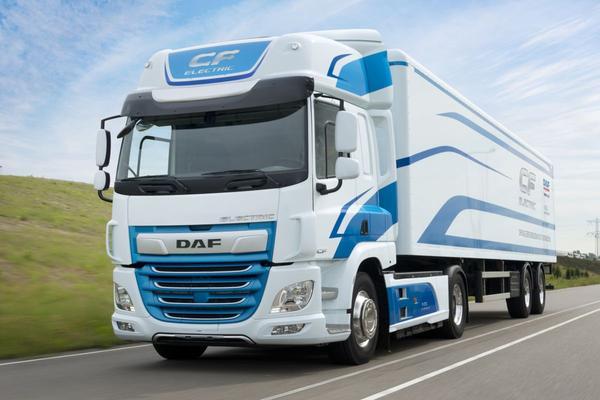 DAF Trucks en VDL presenteren elektrische truck