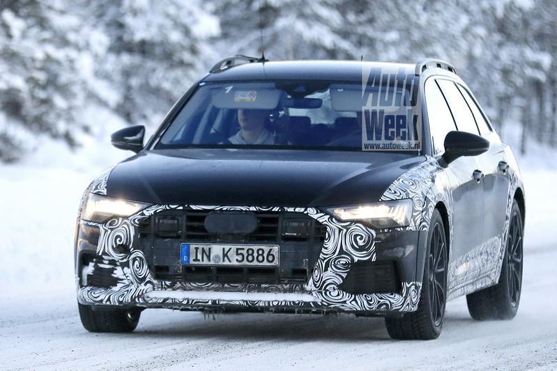 Audi A6 Allroad Spysots