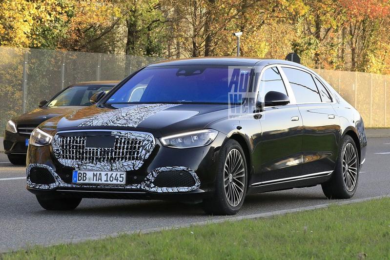 Spyshots Mercedes-Maybach S-klasse