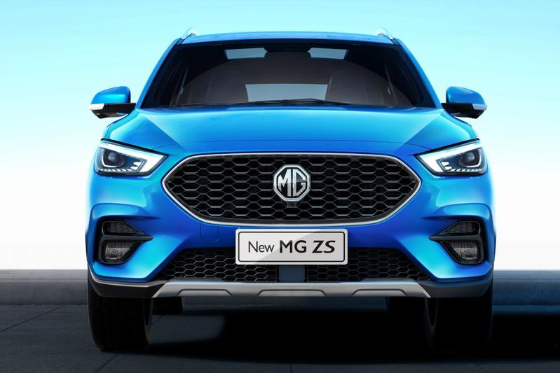 MG ZS facelift