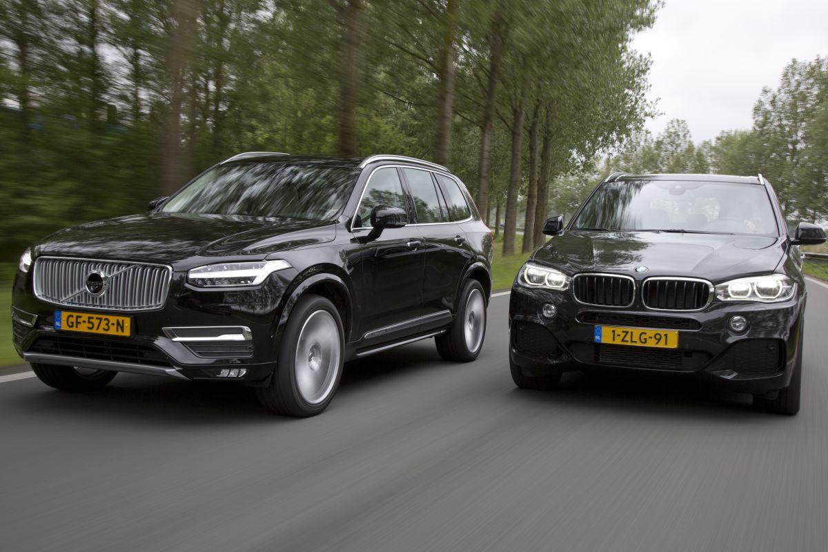 BMW X5 xDrive30d - Volvo XC90 D5 AWD