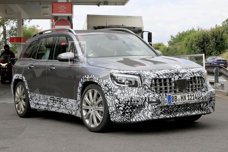 Spyshots Mercedes-Benz GLB AMG