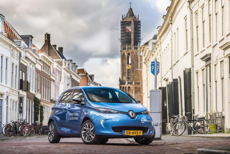 Renault Bidirectional Zoe