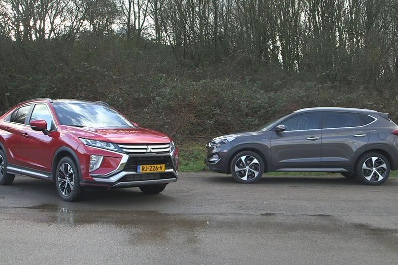 Mitsubishi Eclipse Cross vs. Hyundai Tucson - Dubbeltest