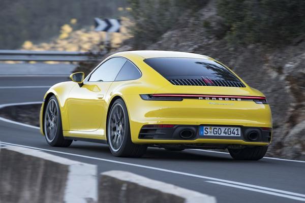 Porsche 911 - Rij-impressie