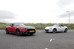 Abarth 124 Spider vs Mazda MX-5 - Dubbeltest