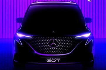 Mercedes-Benz EQT Concept komt eraan