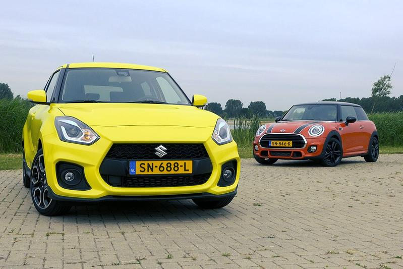 Suzuki Swift Sport vs. Mini Cooper - Dubbeltest