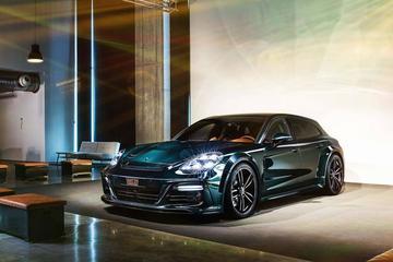 Porsche Panamera Sport Turismo volgens Techart