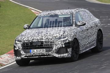 Audi Q8 raast over de Ring