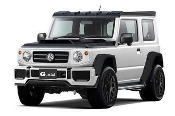 Suzuki Jimny wordt G-klasse