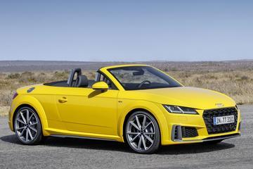 Audi TT onder het mes