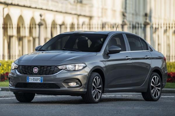 Fiat Tipo Sedan van Nederlandse prijslijst