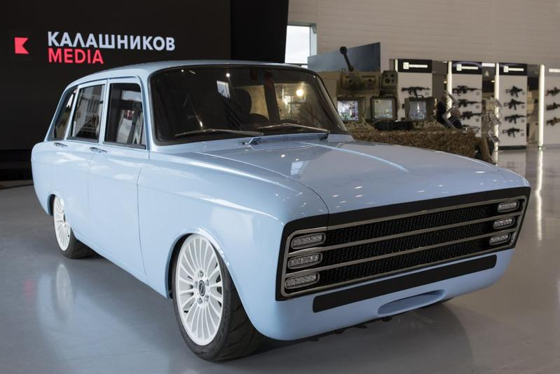 Kalashnikov toont merkwaardige CV-1 Concept