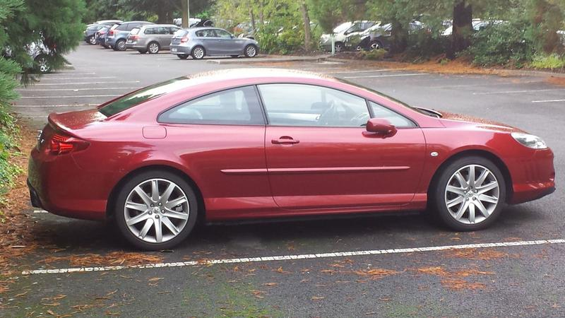 Peugeot 407 Coupé Pack 2.0 HDiF (2008)