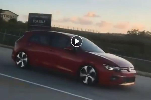 Raadselachtige Volkswagen Golf gesnapt