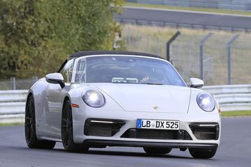 Porsche 911 GTS Cabriolet betrapt