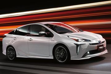 TRD en Modellista pakken Toyota Prius beet voor Tokyo