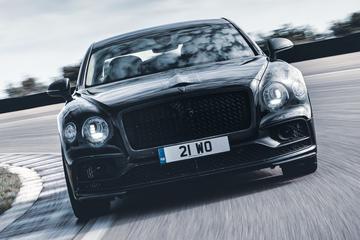 Bijna klaar: Bentley Flying Spur