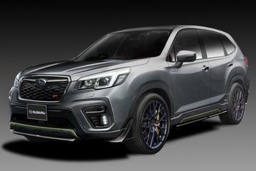 Subaru neemt ook Forester STI concept mee naar Tokyo